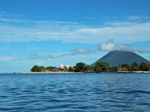 Bunaken Sulawesi uitzicht - Indonesie