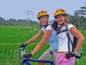 sulawesi reizen indonesie - fiets