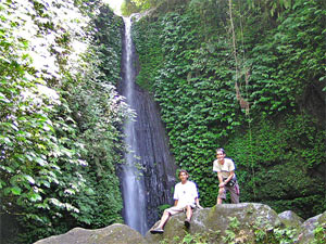 tetebatu waterval lombok indonesie