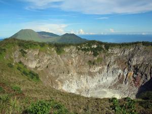 noord sulawesi vulkaan indonesie