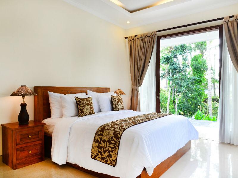 Rijstveld hotel Ubud