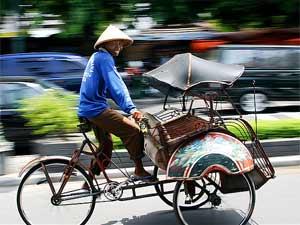 vervoerpagina becak indonesie