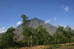 vulkanen tijdens rondreis indonesie
