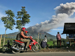 vulkaan sinabung sumatra