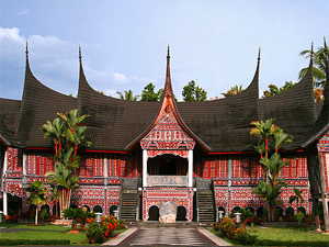 west sumatra tempel indonesie