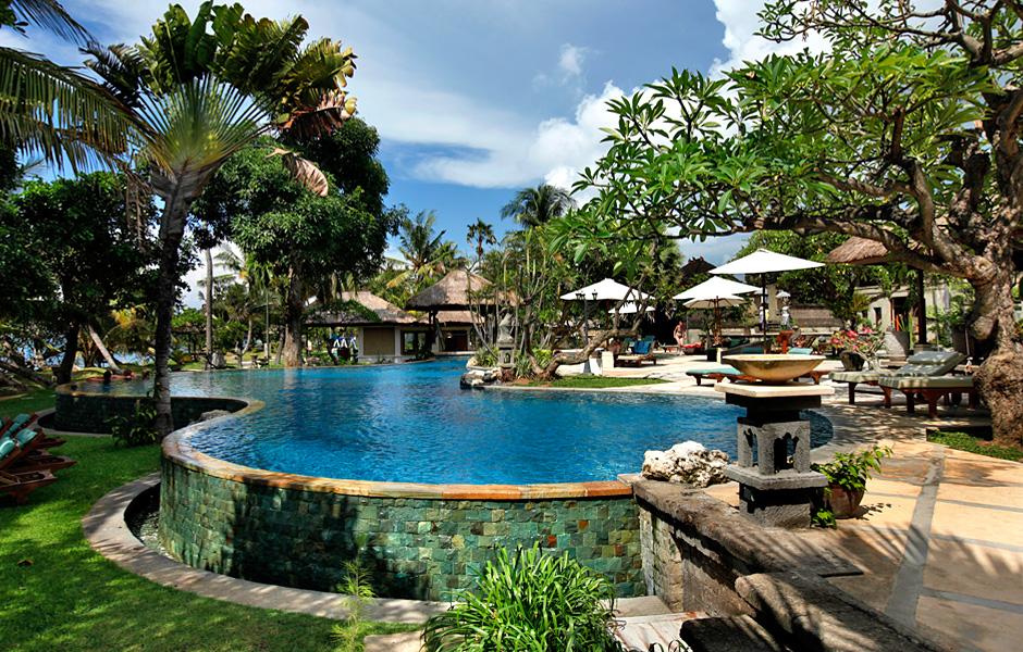 Strand lovina bali riksja indonesi - Houten strand zwembad ...