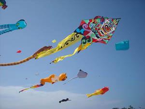 indonesie bali sanur vliegers