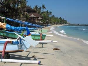 indonesie bali wit strand