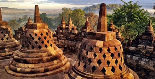 Indonesië reizen - Borobudur Java
