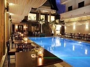 Sumatra - Medan hotel zwembad