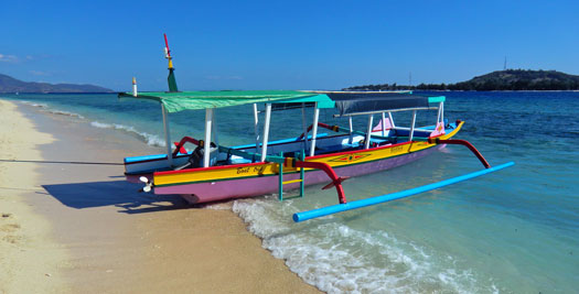 Indonesië-reis Bali Gili