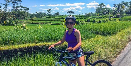 Indonesië-reis - Fietsen rijstterrassen