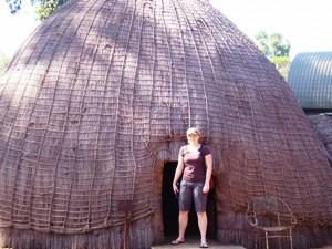 Swaziland - Mlilwane Wildlife Sanctuary - Swaziland Bienenkorbhaus - Nordosten Südafrika