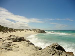 Besuchen Sie die Küste des De Hoop Naturereservat