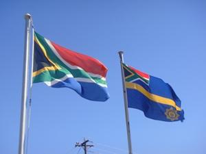 Die südafrikanische Flagge