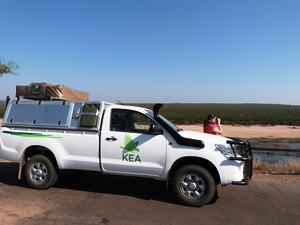 Mit dem Allradwagen im Krüger Nationalpark