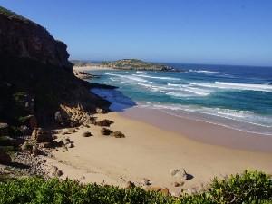 Küste im Robberg Nature Reserve