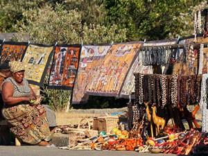Verkaufsstand am Blyde River Canyon