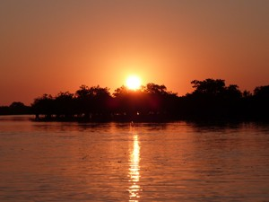 Mosambik - Sonnenuntergang