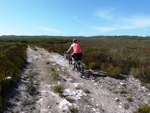 Mountainbike Tour durch das Reservat