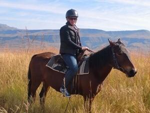 Auf dem Pferderücken durch die Drakensberge