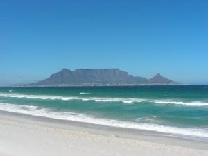 Tafelberg ohne Wolken