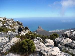 Wanderung auf dem Tafelberg