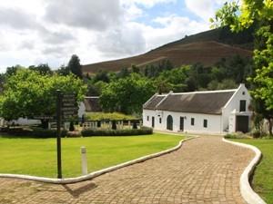 Die berühmte Weinregion bei Stellenbosch
