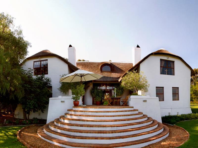 Haupthaus eines Wine Estate - Weinregion Südafrika