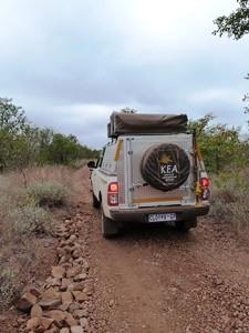 Mit dem Geländewagen durch Botswana