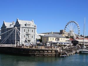 Die Waterfront in Kapstadt
