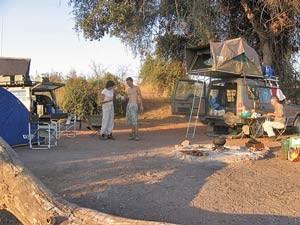 Südafrika-Botswana-Rundreise-campingplatz-nata