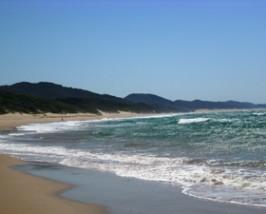 Der berühmte Strand von Cape Vidal