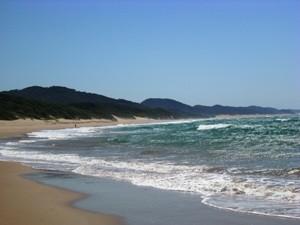Südafrika-cape-vidal-Strand