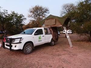 Südafrika-Geländewagen-dachzelt-krueger