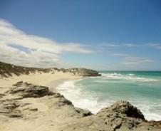 Strand, Meer und Dünen im De Hoop Nature Reserve