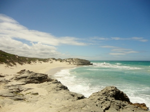 Wildromantische Küsten im De Hoop Naturreservat