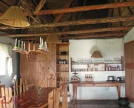 Küche im Bergcottage