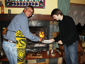 Kochen Sie gemeinsam mit Ihrem Gastgeber - Farmstay Süadrika