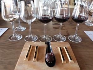 Wein und Schokoldade