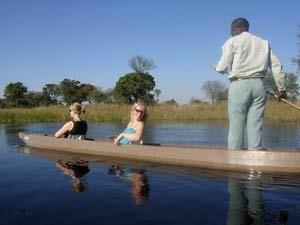 Mokorofahrt durch das Okavango Delta