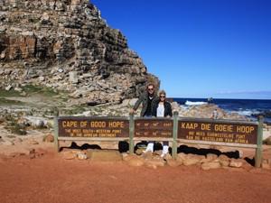 Das Kap der guten Hoffnung auf der Kaphalbinsel