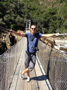 Suspension Bridge Tsitsikamma Nationalpark