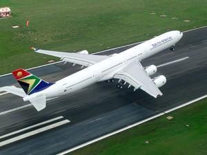 Rückflug ab Port Eliazbeth zum Beispiel mit South African Airways