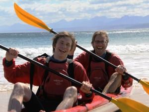 Sea Kayak fahren
