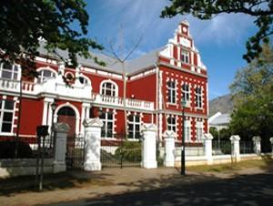 Ein altes, malerisches Gebäude in Stellenbosch - Weinregion Südafrika