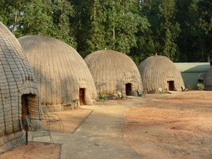 Bienenkorbhäuser in Swaziland