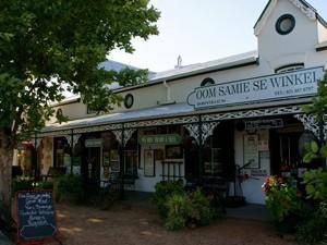 Ein traditionelles Geschäft in Stellenbosch - Weinregion Südafrika