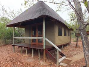Ihr komfortables Safarizelt im Buschcamp