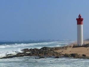 Umhlanga Rocks Leuchtturm bei Durban